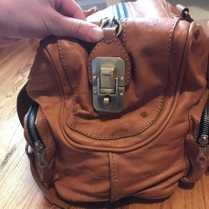Chloe Bags - Authentic Chloé havane leather bag